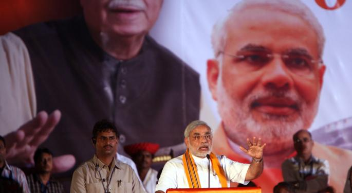 Predicted Modi Win Sends This India ETF Surging