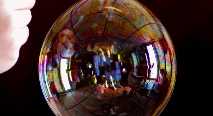 Barron's Recap: Sizing Up The New Tech Bubble