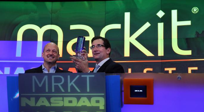 Markit Opens 10 Percent Above IPO, Continues Higher