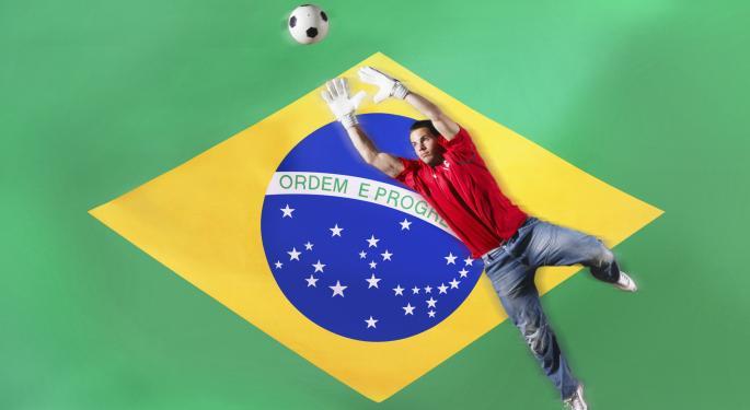 Brazil ETFs Rally Into World Cup EWZ, BRXX, BRAF