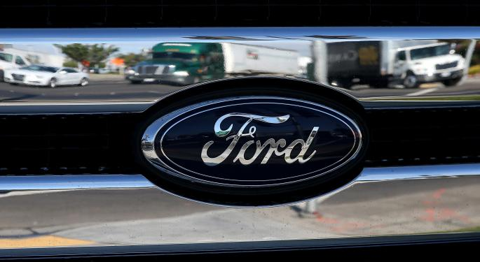 Ford CEO Mum On Google Talks At Auto Show