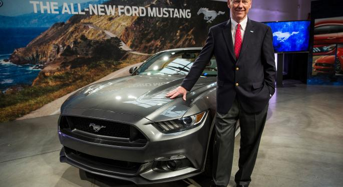 Alan Mulally Says He's Committed To Ford