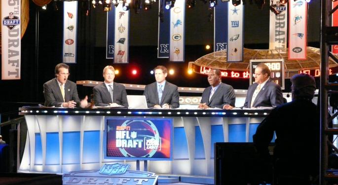 Is Social Media Hurting ESPN's NFL Draft Coverage? Not Much As You Might Think
