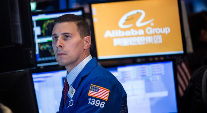 Cantor, Wedbush And Others Weigh In On Alibaba Group Holding Ltd