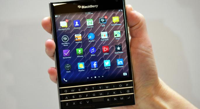 BlackBerry Ltd's New Strategy Has Nothing To Do With Beating Apple Inc.