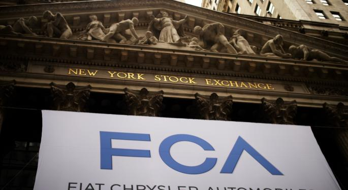 How Fiat Chrysler And Other Automakers Performed On First Days Of Trading