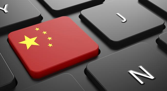 Chinese Internet Companies See Broad Gains Thursday
