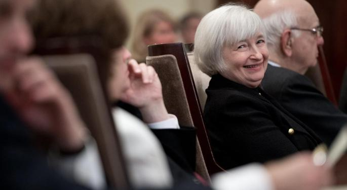 This ETF Is Begging Yellen To Raise Interest Rates