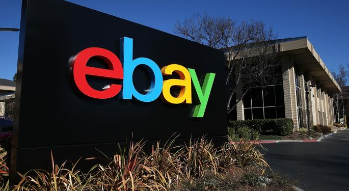 EBay Inc. Shares Trying To Hold On Above Support
