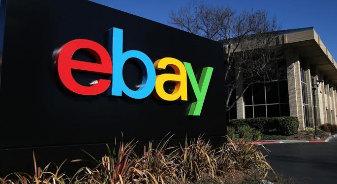 There's An 85% Probability eBay Goes Higher This Week