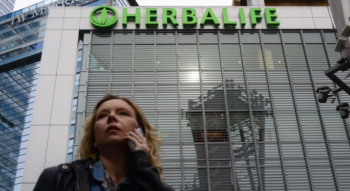 Herbalife Discloses FTC Demand for Civil Investigation, Shares Nose Dive