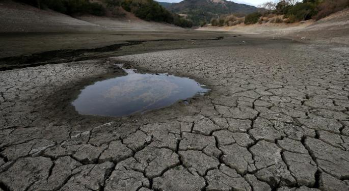 California's Drought Turns Traders' Attention To Water Plays