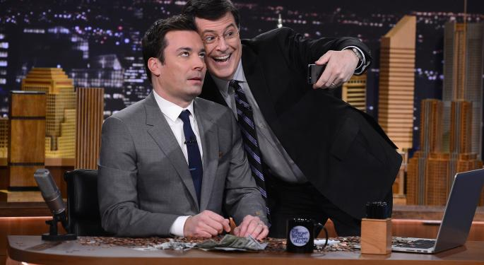 Stephen Colbert Vs. Jimmy Fallon: Who Is The Current Leader?