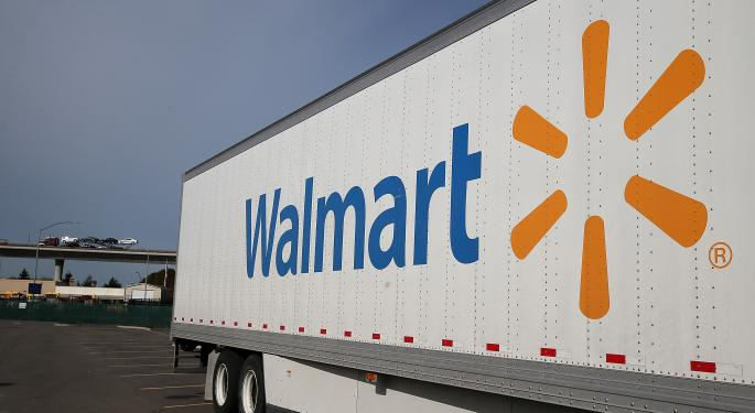 Wal-Mart Sees Decline In Online Sales Growth As Amazon's Online Sales Increase