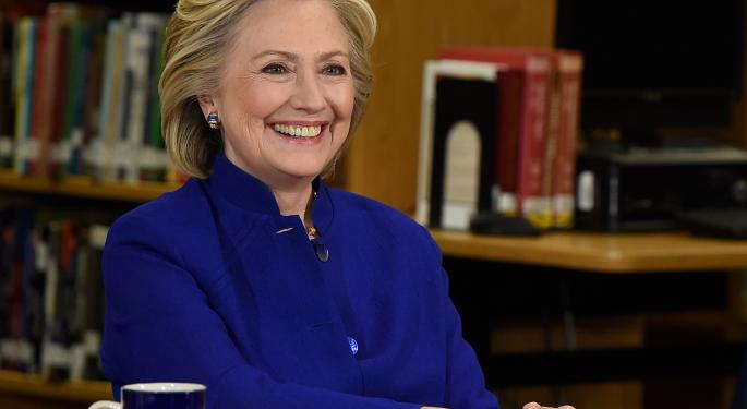 Hillary Clinton Blog Post Hits Valeant Stock For 9% Loss Without Revealing New Policy