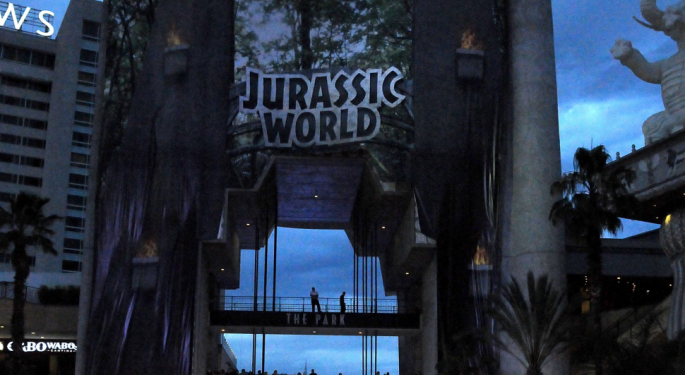 'Jurassic World' Sets Records...How Can Investors Play It?