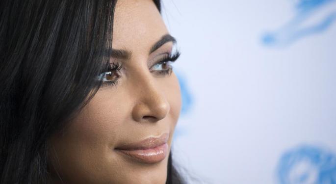 Kim Kardashian's Butt Breaks The Internet. Again.