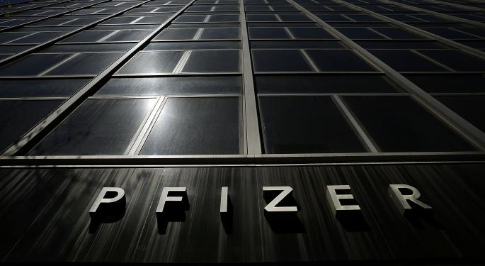 Pfizer Inc. Trying To Claw Its Way Back Up After Pullback