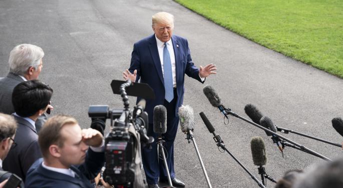 In Campaign Shift, Joe Biden Calls For Trump's Impeachment