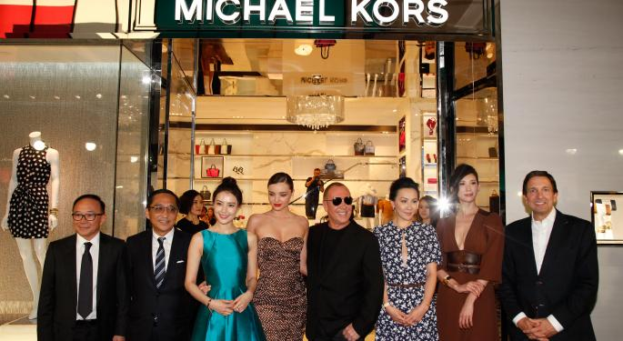 Earnings Preview: Will Michael Kors Keep Rallying?