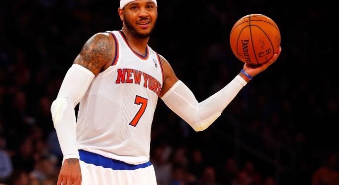 Carmelo Anthony Launches Investment Firm