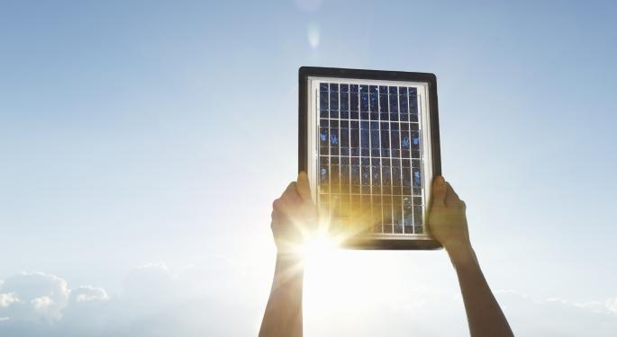 Solar Stocks: 'Thanks Obama'