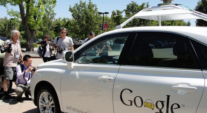Where GM, Ford Motor Company And Google Inc Are With The Automated Car