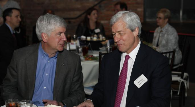 Rick Snyder And Mike Duggan Stand Behind JP Morgan's Commitment To Detroit