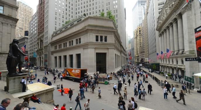 Mid-Day Market Update: US Stocks Turn Red; Fusion-IO Shares Jump On SanDisk Buyout
