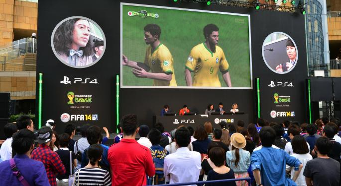 The World Cup And FIFA 15 Could Take EA To New Heights