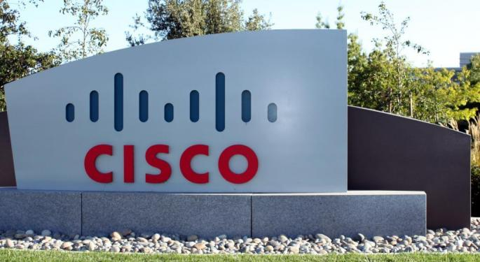 Cisco Shares Rise After Q2 Earnings Beat