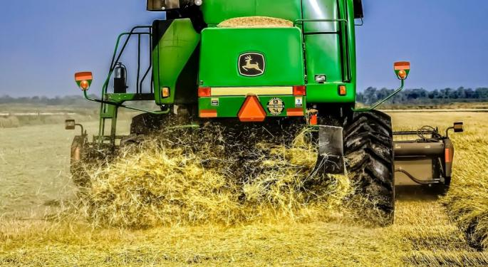 Goldman Cuts Machinery Group To Cautious: Upgrades Deere, AGCO, Downgrades Manitowoc, Terex, Navistar