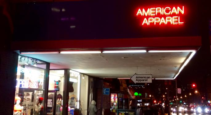 Why American Apparel Could Be Good For Day Traders