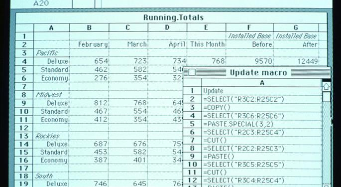This Day In Market History: Bill Gates Unveils Microsoft Excel