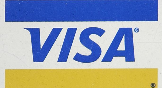 Visa Tops Q3 Estimates V