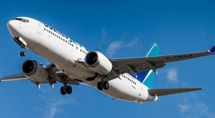 Argus Downgrades Boeing On Near-Term 737 Max Risk