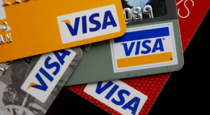 Visa Faltering As The Market Hovers Near Highs