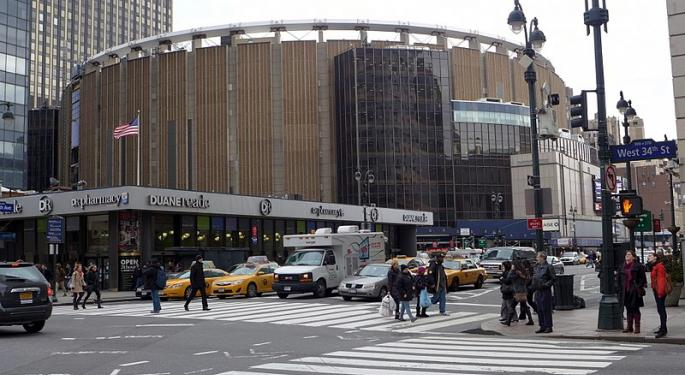 Madison Square Garden Wins New Fans With Proposed Entertainment, Sports Split