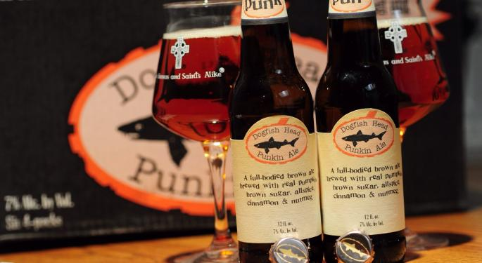 Analyst Says Dogfish Head 'Could Be Trophy Material' For Boston Beer