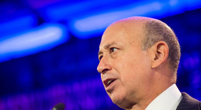 Goldman Sachs Investors Don't Seem Concerned About A Lloyd Blankfein Departure