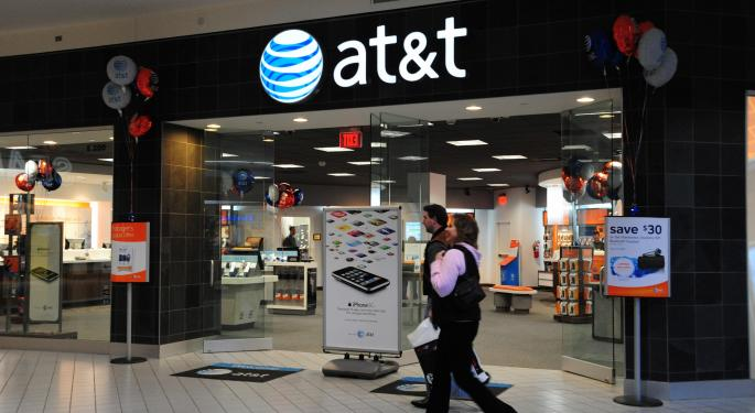 AT&T Rises Slightly After Q3 Results