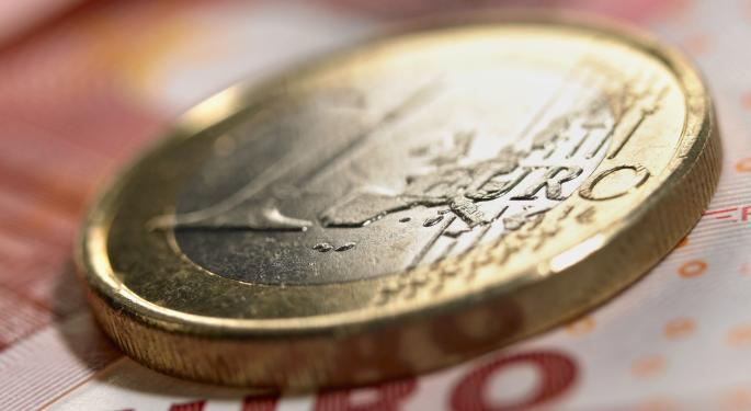 Euro Sinks Following Draghi's Remarks