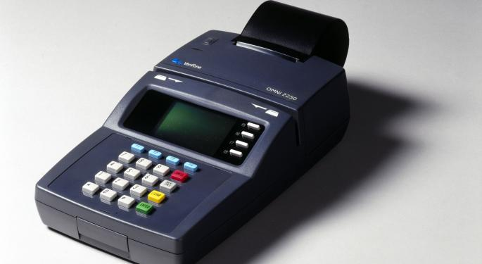 VeriFone Down 4% After Q4 Earnings Beat