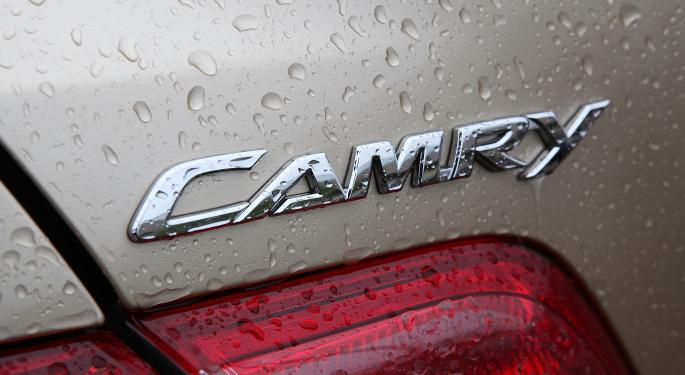Toyota Camry Quickly Returns to Consumer Reports 'Recommended' List