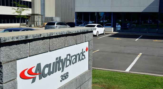 Goldman Sachs: Acuity Brands' Risk-Reward Profile Has Turned Unfavorable