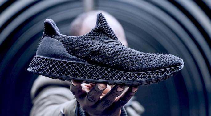 The Big 3 Are In: Adidas Launches The Latest 3D-Printed Shoe