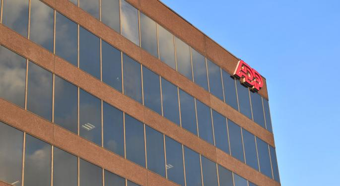 BofA Downgrades ADP, Sees Only 7% Upside Potential
