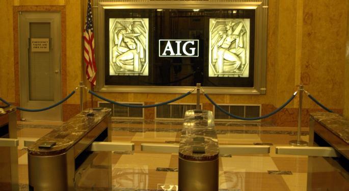 Compelling Risk/Reward Seen In American International Group Shares; Morgan Stanley Upgrades