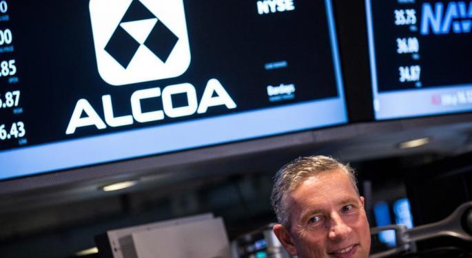 Solid Week For Stocks But Alcoa Warning Keeps Global Concerns Alive