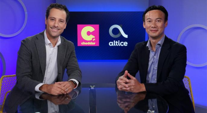 Altice Buys Streaming Financial News Network Cheddar For $200M